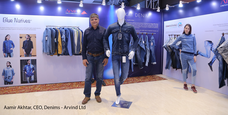 Aamir Akhtar CEO Denims Arvind Ltd