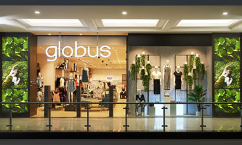 globus launches new flagship store in seawoods grand central mall navi mumbai retailers. Black Bedroom Furniture Sets. Home Design Ideas