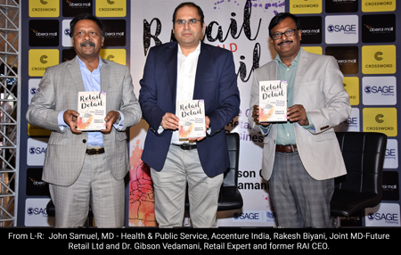 Retail Beyond Detail Book Launch Mr Rakesh Biyani Dr Gibson G Vedamani